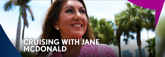 Cruising with Jane McDonald