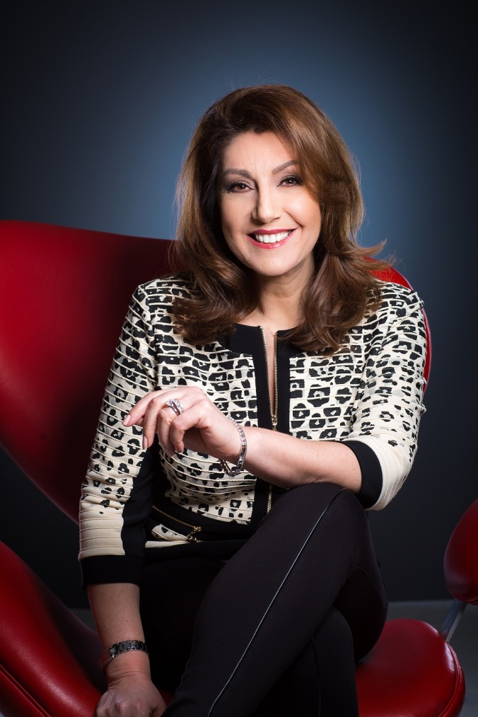 Jane McDonald spring photo shoot